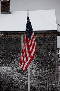 Snowing in Salisbury