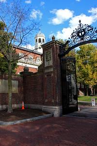 Johnston Gate - Harvard University