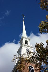 Steeple of Memorial Church - Harvard University