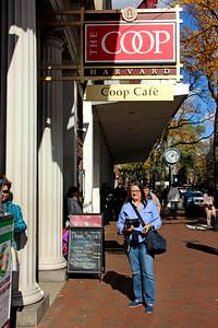 Barb in Harvard Square