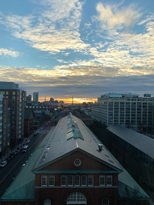 View from Spaulding Rehabiliation Hospital