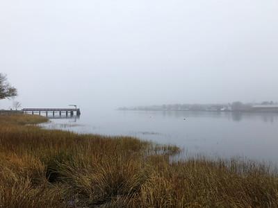 Fog over the Merrimack River