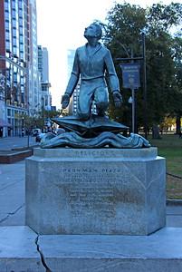 """""""Religion"""" - Parkman Plaza on Boston Common"""