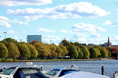 View across the Charles River from the Royal Sonesta Boston