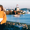 Louise at Plymouth Harbor - Plymouth, MA  10-24-98