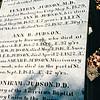 Adoniram Juson's Grave - Burial Hill Cemetery - Plymouth, MA  10-24-98
