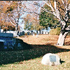 Burial Hill Cemetery - Plymouth, MA  10-24-98