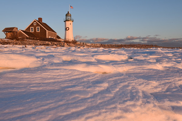 Scituate Harbor & Lighthouse - 1-Jan-2018