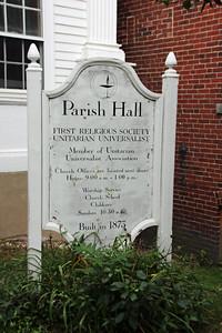 First Religious Society - Unitarian Universalist Church