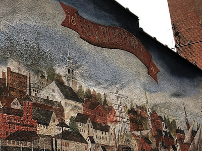 Mural in Downtown Newburyport