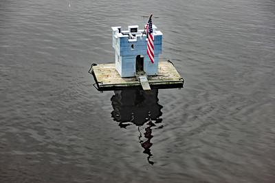 Duck Castle at Bridge Marina