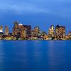 Skyline of Boston, Massachusetts, USA