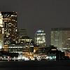 Downtown Boston from across the harbor at the Hyatt Regency Harborside 03/25/2010