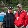 My brother Dan and myself with 12 in the background. Dan is a veteran PGA teaching pro in Atlanta.