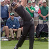 IMHO, a perfectly executed swing. His ball carried nearly 300 yards down the middle of the 8th.
