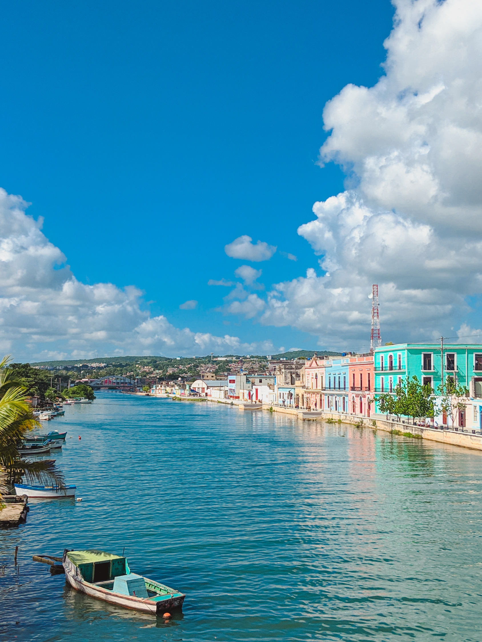 Matanzas Cuba river, known as the Venice of Cuba
