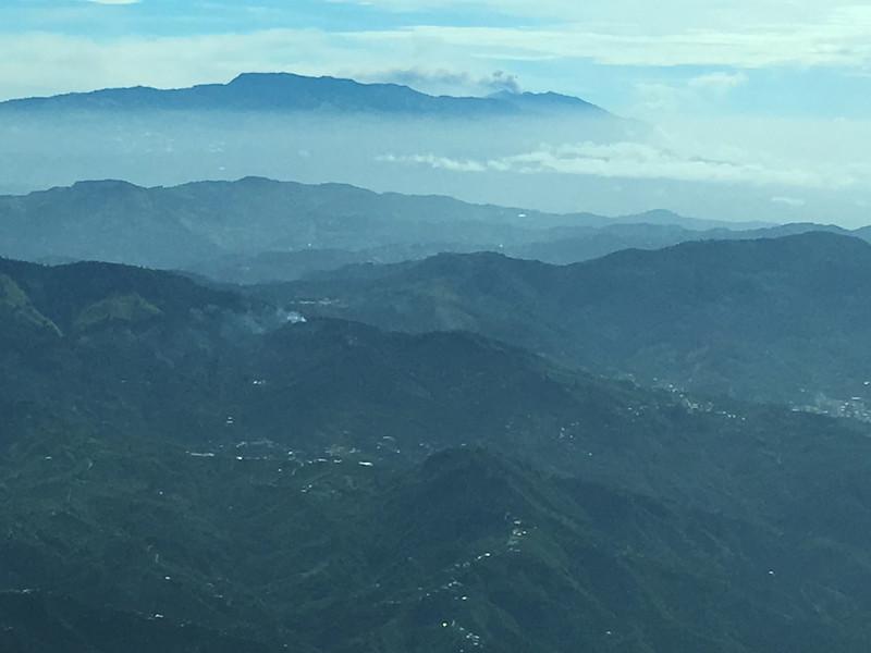 Cerro Alto from Sansa Cessna 208 Caravan