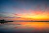 Sunrise at Edgartown Lighthouse Beach