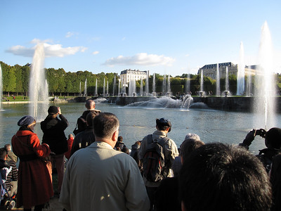 Matt in France - Versailles and Paris