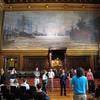 Large paintings in the Rathaus.