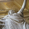 Marble Statue in Rathaus