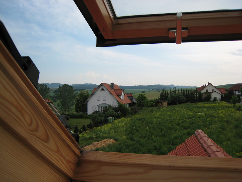 Sülzfeld (Meiningen), Germany. Picture from one of my windows.