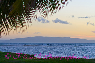 Sunset over Kahoolawe 01
