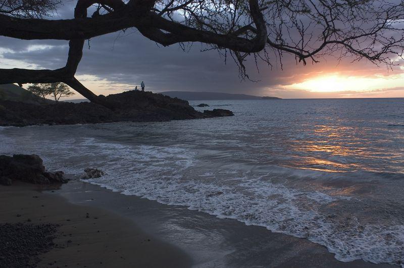 Sunset Makena Landing
