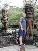 Me, I like the statues.