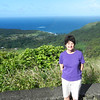 One of many scenic overlooks on our way to Hana.