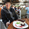 Cindy enjoyed this ice cream sandwich at the Hula Grill, our favorite restaurant on the island.