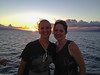 Laura and Jess on sunset cruise