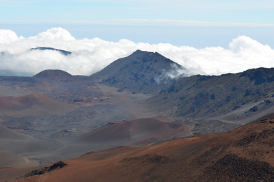 Haleakala Crater, High Above the Clouds