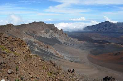 First View of Haleakala Crater