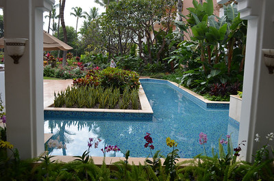 Entry Pools to Grand Wailea hotel, Maui