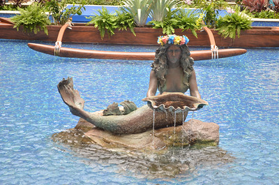 Mermaid Pool in Lobby