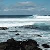 Surfers at Ho'okipa