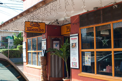 Our breakfast stop in Paia, on the way to Hana.