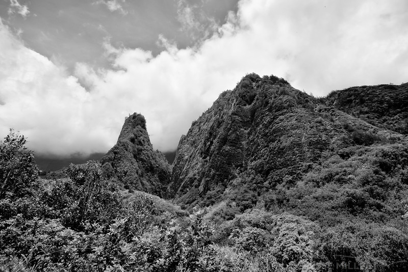 Iao Needle: Iao Valley State Park, Maui, Hawaii - March 2013