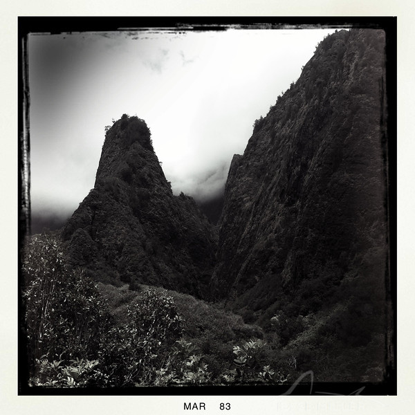 Lens: Chunky<br /> Film: BlacKeys B+W<br /> Flash: Off<br /> [Taken in Iao Valley State Park]