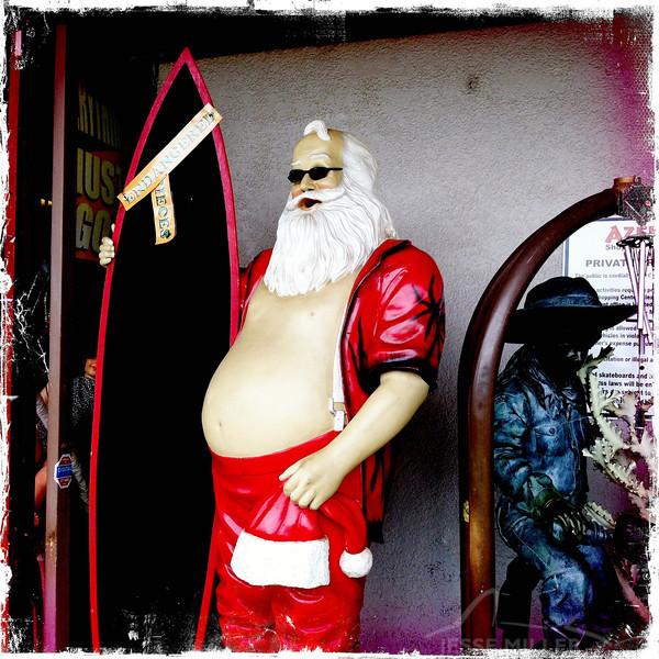 Santa in Kihei, Maui