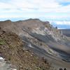 Rim of the volcano.