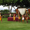 After breakfast we went to the courtyard for a traditional Hawaiian Makahiki celebration.