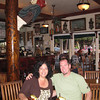 Christine and Bruce at the Pioneer Inn bar.