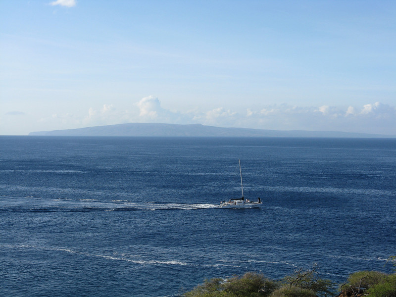 Looking over to Kahoolawe.