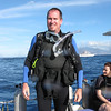 Bruce ready to dive.