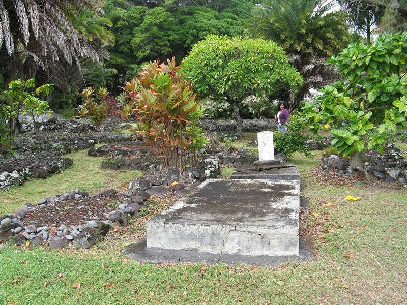 Other graves in the small cemetary.