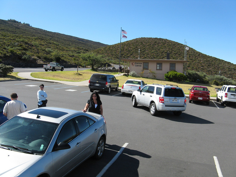 The visitor center. We bought a few souvenirs here and used the facilities.