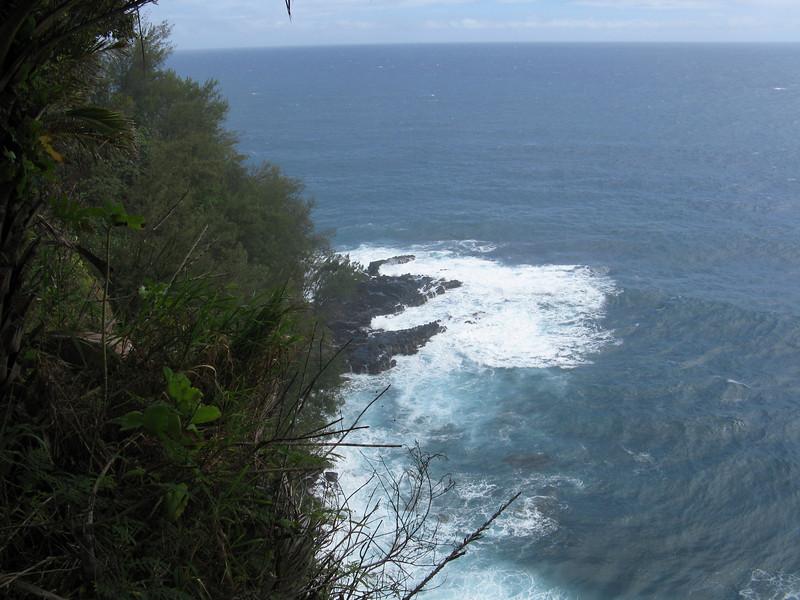 Another view of the ocean below.