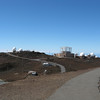 There are several large observatories at the summit.